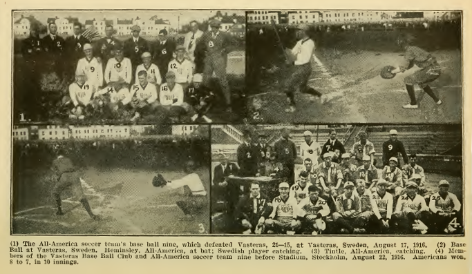 All-Americans playing baseball in Scandanavia