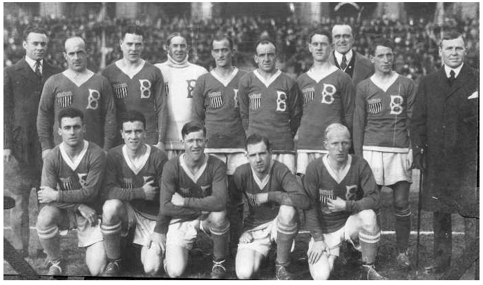 BSFC 1919 Scandinavia tour jersey