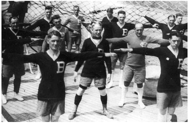BSFC 1919 Scandinavia tour