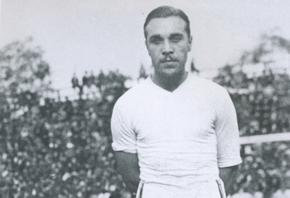 Billy Gonsalves. Photo Courtesy of National Soccer Hall of Fame.