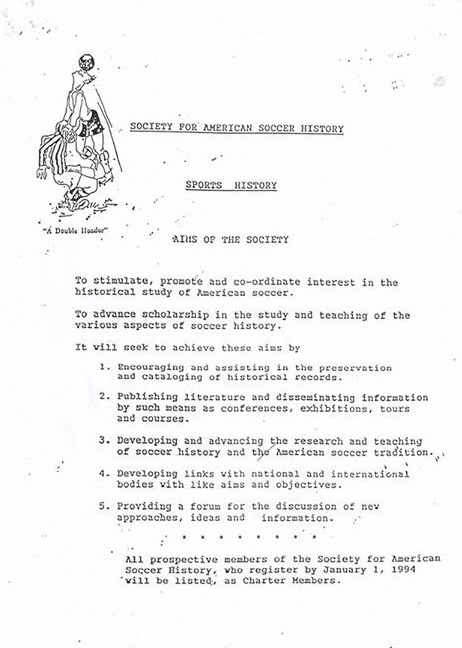 SASH Mission Statement 1993