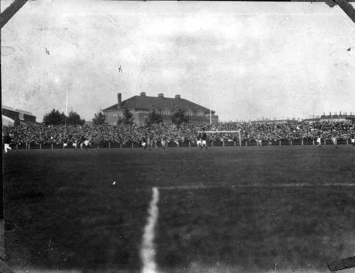 Bethlehem in play at unidentified stadium in Scandinavia.