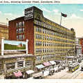 The first meeting of the Cleveland Soccer Football Club took place at the Colonial Hotel, which is known mainly because it was one of the first indoor shopping malls in the country.