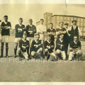The Holyoke Falcos around 1921. The photo was likely taken at the club's Berkshire Street ground. You can almost see what looks to be the grandstand in the upper left of the image. Image: © Laurel O'Donnell 1995 – 2006;