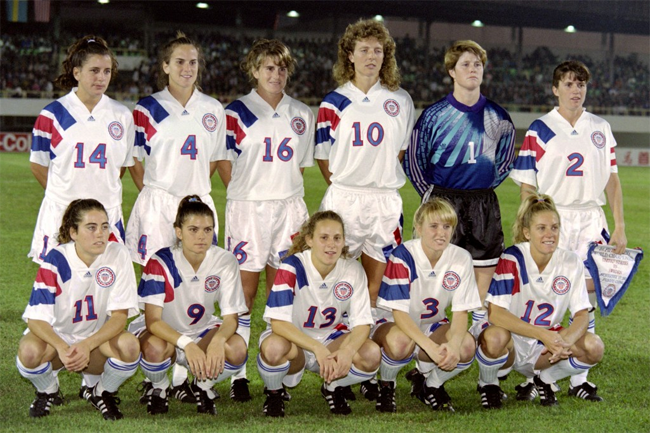 1991 US Womens World Cup team
