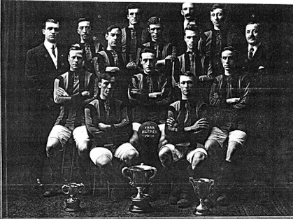 Farr Alpaca FC, 1911-12.  Image courtesy of the Holyoke Public Library History Room and Archives, Holyoke Massachusetts.