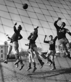 Girard College team training in 1946.