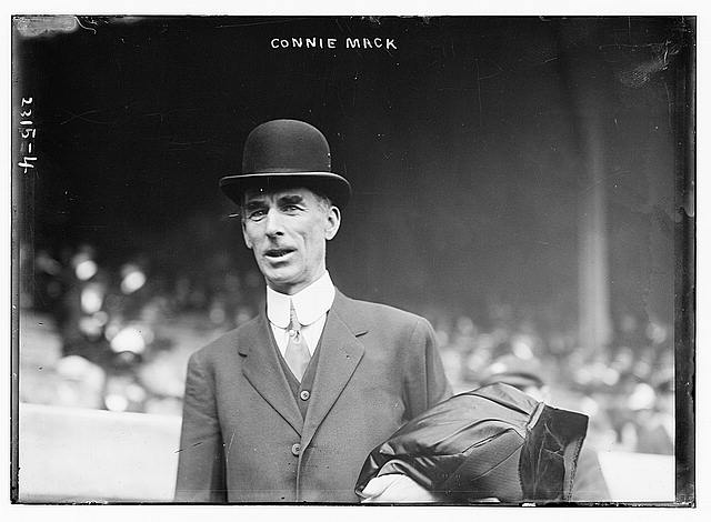Connie Mack in 1911 (Image courtesy of Library of Congress)