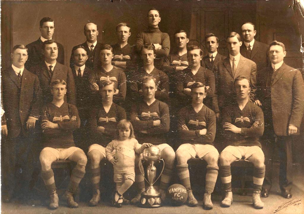 Vampire FC, 1913-14. Image courtesy of Katrina Anderson