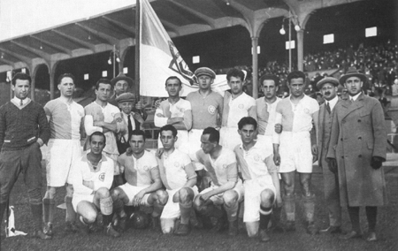 Hakoah in 1925. Photo courtesy of s-port.de