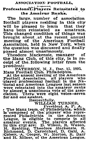 Philadelphia Inquirer, December 17, 1895