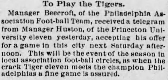 The Philadelphia Times, November 20, 1894
