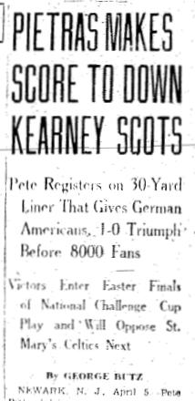 Detail of April 6, 1936 Philadelphia Inquirer report.