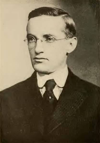 Harry W. Trend. From the 1916-1917 Spalding Guide.