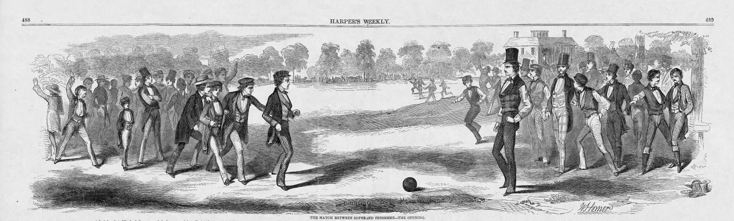 "1858: A pivotal year in early American ""Foot-ball"""