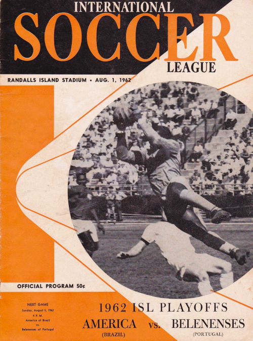 ISL official program 1962