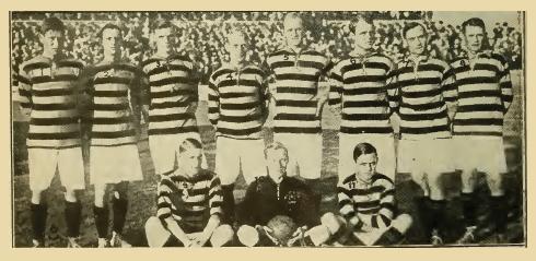 Tigrarna Fotbollklubben at Stockholm Olympic Stadium, August 15, 1916