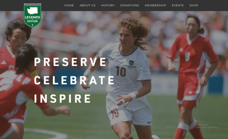 Washington State Legends of Soccer site is bringing history back to life