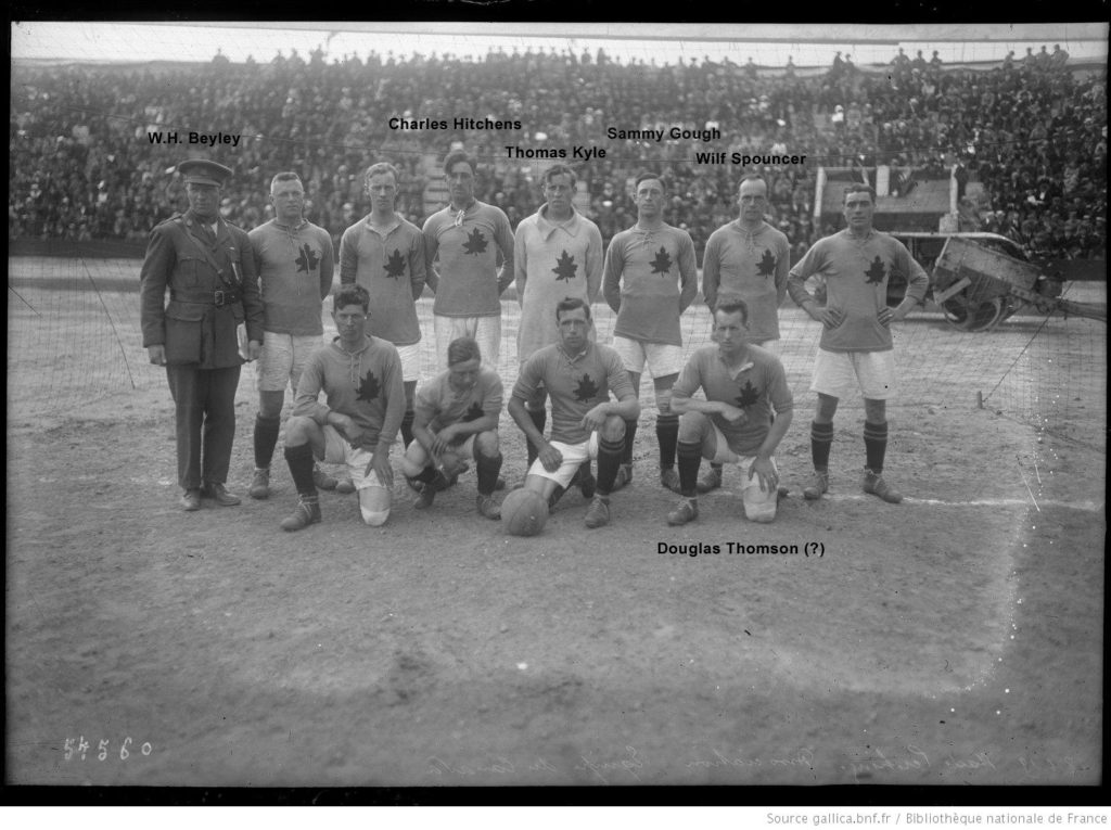 Team Canada at Inter-Allied Games