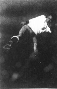 Gil Heron with ball