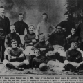 O.N.T. FC, the company team sponsored by Clark Thread Company, 1885: courtesy of the Kearny Public Library