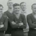 A portion of the Fall River squad taken from a film of the 1924 cup final