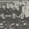 Bustard (no. 5) with West Hudson AA, Spalding's Official Soccer Foot Ball Guide, 1916-17.