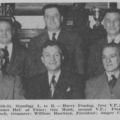 The Philadelphia Old Timers Association leadership in 1949-50 and 1950-51.